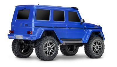 TRAXXAS TRX-4 Mercedes G 4x4 blau RTR ohne Akku/Lader TRX82096-4BLUE bei Trade4me RC-Modellbau kaufen