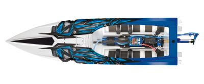 TRAXXAS Power Boot Spartan blau-X ohne Akku/Lader TRX57076-4BLUEX bei Trade4me RC-Modellbau kaufen