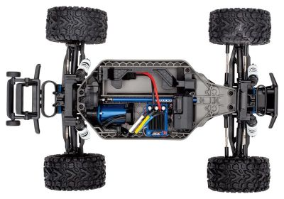TRAXXAS Rustler 4x4 VXL green/blue RTR without Accu/Charger TRX67076-4GRN bei Trade4me RC-Modellbau kaufen