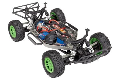TRAXXAS TRAXXAS Slash 4x4 green/blue RTR +12V-Charger+AccuTRX68054-1GRN bei Trade4me RC-Modellbau kaufen