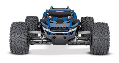 TRAXXAS Rustler 4x4 blau RTR +12V-Lader+Akku +BL-Upgrade TRX67064BLUG-1BLU bei Trade4me RC-Modellbau kaufen