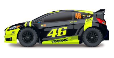 TRAXXAS Ford Fiesta ST Rally / Licensed painted Body TRX74064-4 bei Trade4me RC-Modellbau kaufen