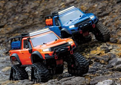 TRAXXAS TRX-4 with All-TerrainTraxx orange RTR without Accu/Charger TRX82034-4ORNG bei Trade4me RC-Modellbau kaufen