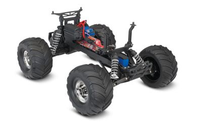 TRAXXAS Bigfoot No.1 BLUEX RTR +12V-Charger+Accu 1/10 2WD Monster Truck Brushed TRX36034-1BLUEX bei Trade4me RC-Modellbau kaufen