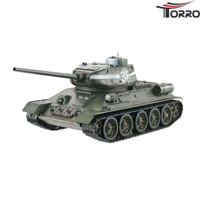 Torro T34/85 RC Panzer 1:16 2.4 GHz (Profi-Metall BB Grün) 1112400400 bei Trade4me RC-Modellbau kaufen
