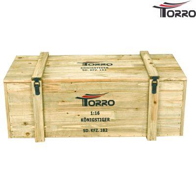 Torro Königstiger - 6mm BB - 360° Turmdrehung - Sommertarn - Stahlgetriebe 1112200600 bei Trade4me RC-Modellbau kaufen