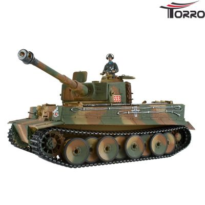Torro Tiger I. Metal Professional Edition (BB version incl. RRZ Torro Tank Camouflage) 1112800107 bei Trade4me RC-Modellbau kaufen
