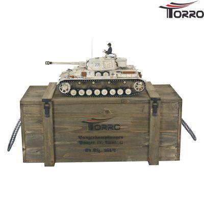 Torro Panzer 4 - PzKpfw IV. Ausf. G - Div. LAH Kharkov1943 1110385901 bei Trade4me RC-Modellbau kaufen