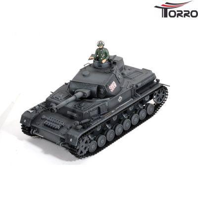Torro PANZER IV. Upgrade & Airbrush 6mm BB Torro 2.4 GHz-Edition Grau 1112103651 bei Trade4me RC-Modellbau kaufen