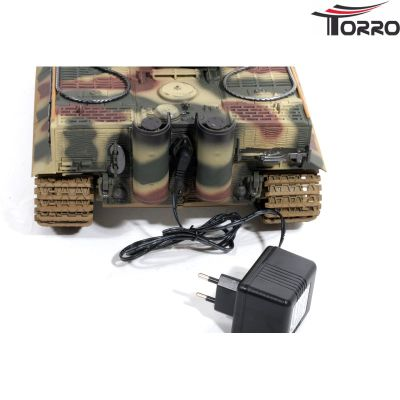 Torro Model tank Tiger I (latest Edition) with metal underpan BB (Camouflage) 1112205223 bei Trade4me RC-Modellbau kaufen