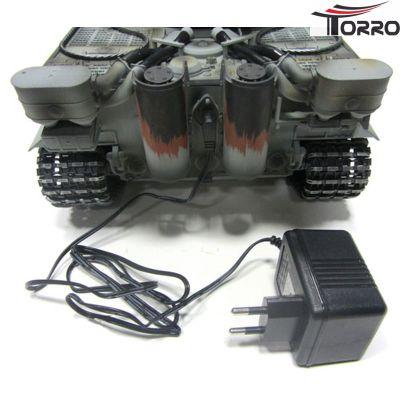 Torro Tiger 1 Panzer mit Metallunterwanne Frühe Version BB Grau 1112205221 bei Trade4me RC-Modellbau kaufen