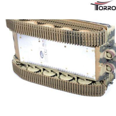 Torro Tiger 1 Panzer mit Metallketten, Metallunterwanne Späte Version BB Sommertarn 11 bei Trade4me RC-Modellbau kaufen