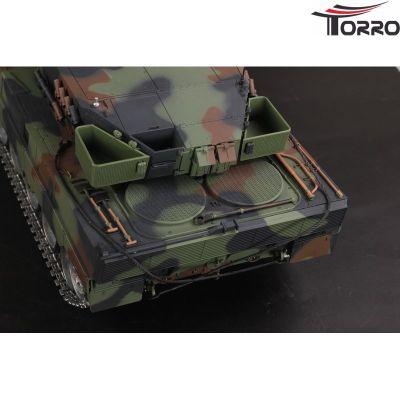Torro Leopard 2A6 Pro-Version mit Metallketten etc. 1/16 1112438892 bei Trade4me RC-Modellbau kaufen