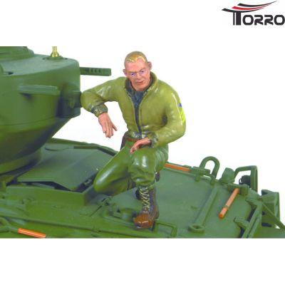 Torro Sergeant B. Green kneeling Torro 1/16 Figure 222331011 bei Trade4me RC-Modellbau kaufen