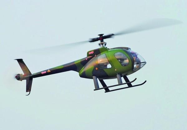 Hubschrauber-Unfall-Check